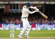 26 July 2019; Mark Adair of Ireland batting during day three of the Specsavers Test Match between Ireland and England at Lords Cricket Ground in London, England. Photo by Matt Impey/Sportsfile
