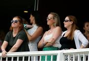26 July 2019; The partners of the Ireland players after the game on day three of the Specsavers Test Match between Ireland and England at Lords Cricket Ground in London, England. Photo by Matt Impey/Sportsfile