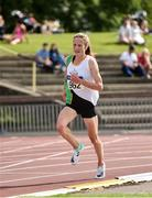 27 July 2019; Fionnuala McCormack of Kilcoole A.C., Co. Wicklow, on her way to winning the Women's 5000m during day one of the Irish Life Health National Senior Track & Field Championships at Morton Stadium in Santry, Dublin. Photo by Sam Barnes/Sportsfile