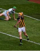 27 July 2019; Colin Fennelly of Kilkenny celebrates after scoring his side's first goal during the GAA Hurling All-Ireland Senior Championship Semi-Final match between Kilkenny and Limerick at Croke Park in Dublin. Photo by Daire Brennan/Sportsfile