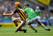 27 July 2019; Colin Fennelly of Kilkenny in action against Seán Finn of Limerick during the GAA Hurling All-Ireland Senior Championship Semi-Final match between Kilkenny and Limerick at Croke Park in Dublin. Photo by Piaras Ó Mídheach/Sportsfile