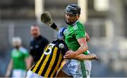 27 July 2019; Gearóid Hegarty of Limerick in action against Huw Lawlor of Kilkenny during the GAA Hurling All-Ireland Senior Championship Semi-Final match between Kilkenny and Limerick at Croke Park in Dublin. Photo by Piaras Ó Mídheach/Sportsfile