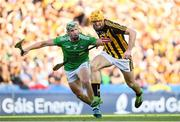 27 July 2019; Colin Fennelly of Kilkenny in action against Seán Finn of Limerick during the GAA Hurling All-Ireland Senior Championship Semi-Final match between Kilkenny and Limerick at Croke Park in Dublin. Photo by Ramsey Cardy/Sportsfile