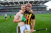 27 July 2019; Adrian Mullen, left, and Cillian Buckley of Kilkenny celebrate following the GAA Hurling All-Ireland Senior Championship Semi-Final match between Kilkenny and Limerick at Croke Park in Dublin. Photo by Ramsey Cardy/Sportsfile