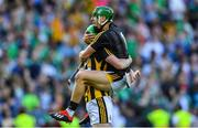 27 July 2019; Kilkenny goalkeeper Eoin Murphy celebrates with Joey Holden after the GAA Hurling All-Ireland Senior Championship Semi-Final match between Kilkenny and Limerick at Croke Park in Dublin. Photo by Piaras Ó Mídheach/Sportsfile