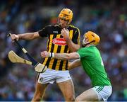 27 July 2019; Colin Fennelly of Kilkenny is tackled by Richie English of Limerick during the GAA Hurling All-Ireland Senior Championship Semi-Final match between Kilkenny and Limerick at Croke Park in Dublin. Photo by Ray McManus/Sportsfile