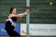 28 July 2019; Michaela Walsh of Swinford A.C., Co. Mayo, competing in the Women's Hammer during day two of the Irish Life Health National Senior Track & Field Championships at Morton Stadium in Santry, Dublin. Photo by Harry Murphy/Sportsfile