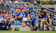 28 July 2019; Barry Heffernan of Tipperary in action against Liam Óg McGovern of Wexford during the GAA Hurling All-Ireland Senior Championship Semi Final match between Wexford and Tipperary at Croke Park in Dublin. Photo by Brendan Moran/Sportsfile