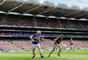 28 July 2019; Brendan Maher of Tipperary in action against Liam Óg McGovern of Wexford during the GAA Hurling All-Ireland Senior Championship Semi Final match between Wexford and Tipperary at Croke Park in Dublin. Photo by Ramsey Cardy/Sportsfile
