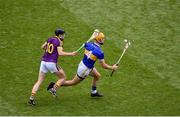 28 July 2019; Barry Heffernan of Tipperary in action against Liam Óg McGovern of Wexford during the GAA Hurling All-Ireland Senior Championship Semi Final match between Wexford and Tipperary at Croke Park in Dublin. Photo by Daire Brennan/Sportsfile