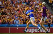 28 July 2019; Séamus Callanan of Tipperary scores his side's first goal during the GAA Hurling All-Ireland Senior Championship Semi Final match between Wexford and Tipperary at Croke Park in Dublin. Photo by Brendan Moran/Sportsfile