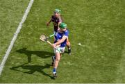 28 July 2019; Noel McGrath of Tipperary in action against Conor McDonald of Wexford during the GAA Hurling All-Ireland Senior Championship Semi Final match between Wexford and Tipperary at Croke Park in Dublin. Photo by Daire Brennan/Sportsfile