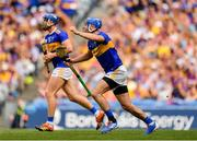 28 July 2019; John McGrath of Tipperary, right, reacts after his goal is disallowed during the GAA Hurling All-Ireland Senior Championship Semi Final match between Wexford and Tipperary at Croke Park in Dublin. Photo by Seb Daly/Sportsfile