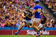 28 July 2019; John McGrath of Tipperary scores a goal which was subsequently disallowed during the GAA Hurling All-Ireland Senior Championship Semi Final match between Wexford and Tipperary at Croke Park in Dublin. Photo by Brendan Moran/Sportsfile