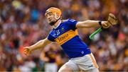 28 July 2019; Jake Morris of Tipperary celebrates after scoring a goal, which was disalowed in favour of a free, late in the GAA Hurling All-Ireland Senior Championship Semi Final match between Wexford and Tipperary at Croke Park in Dublin. Photo by Ray McManus/Sportsfile