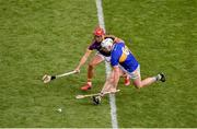 28 July 2019; Padraic Maher of Tipperary in action against Lee Chin of Wexford during the GAA Hurling All-Ireland Senior Championship Semi Final match between Wexford and Tipperary at Croke Park in Dublin. Photo by Daire Brennan/Sportsfile