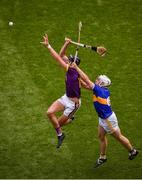 28 July 2019; Rory O'Connor of Wexford in action against Padraic Maher of Tipperary during the GAA Hurling All-Ireland Senior Championship Semi Final match between Wexford and Tipperary at Croke Park in Dublin. Photo by Daire Brennan/Sportsfile