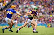 28 July 2019; Aidan Nolan of Wexford in action against Séamus Callanan of Tipperary during the GAA Hurling All-Ireland Senior Championship Semi Final match between Wexford and Tipperary at Croke Park in Dublin. Photo by Ramsey Cardy/Sportsfile