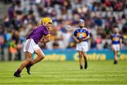 28 July 2019; Matthew O'Neill, Carnaun NS, Athenry, Galway, representing Wexford, during the INTO Cumann na mBunscol GAA Respect Exhibition Go Games at the GAA Hurling All-Ireland Senior Championship Semi Final match between Wexford and Tipperary at Croke Park in Dublin. Photo by Ray McManus/Sportsfile