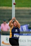 28 July 2019; Amy Forde of St. Killian's A.C., Co. Wexford, competing in the Women's Hammer during day two of the Irish Life Health National Senior Track & Field Championships at Morton Stadium in Santry, Dublin. Photo by Harry Murphy/Sportsfile