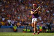 28 July 2019; Lee Chin of Wexford during the GAA Hurling All-Ireland Senior Championship Semi Final match between Wexford and Tipperary at Croke Park in Dublin. Photo by Brendan Moran/Sportsfile