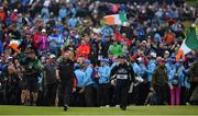 21 July 2019; Shane Lowry of Ireland makes his way to the 18th green on his way to winning the Open Championship title on Day Four of the 148th Open Championship at Royal Portrush in Portrush, Co Antrim. Photo by Brendan Moran/Sportsfile