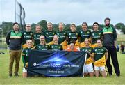 30 July 2019; The Australasia Native Born Ladies Football squad during the Renault GAA World Games 2019 Day 2 at WIT Arena, Carriganore, Co. Waterford. Photo by Piaras Ó Mídheach/Sportsfile