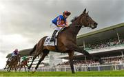30 July 2019; Petit Mustique, with Donnacha O'Brien up, on their way to winning the Colm Quinn BMW Irish EBF Fillies Maiden on Day Two of the Galway Races Summer Festival 2019 in Ballybrit, Galway. Photo by Seb Daly/Sportsfile
