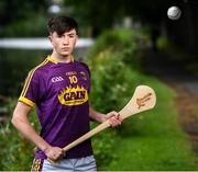 31 July 2019; At The Bord Gáis Energy GAA Hurling All-Ireland U-20 Championship semi-finals preview event in Dublin is Wexford's Charlie Mc Guckin. He was joined by Joe Canning and Ger Cunningham, who were announced as judges for the Bord Gáis Energy U-20 Player of the Year Award, Tipperary's Paddy Cadell, Kilkenny's Adrian Mullen and Cork's Brian Turnbull. Kerry's Adam O'Sullivan and Down's Ruairí McCrickard were also in Dublin to look forward the Richie McElligott Cup decider. Photo by Stephen McCarthy/Sportsfile