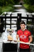 31 July 2019; At The Bord Gáis Energy GAA Hurling All-Ireland U-20 Championship Richie McElligott Cup final preview event is Down's Ruairi Mc Crickard. He was joined by fellow finalist Kerry's Adam O'Sullivan, Joe Canning and Ger Cunningham, who were announced as judges for the Bord Gáis Energy U-20 Player of the Year Award, Wexford's Charlie Mc Guckin, Kilkenny's Adrian Mullen, Tipperary's Paddy Cadell and Cork's Brian Turnbull. Photo by Stephen McCarthy/Sportsfile