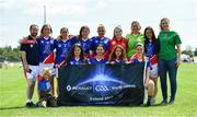 31 July 2019; The Russia Native Born Ladies Football squad during the Renault GAA World Games 2019 Day 2 at WIT Arena, Carriganore, Co. Waterford. Photo by Piaras Ó Mídheach/Sportsfile