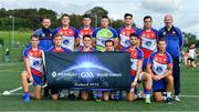 31 July 2019; The New York Liberty Native Born Men's Football squad during the Renault GAA World Games 2019 Day 2 at WIT Arena, Carriganore, Co. Waterford. Photo by Piaras Ó Mídheach/Sportsfile