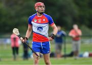 1 August 2019; Johnny Glynn of New York in the Irish Born Hurling Cup semi-final game against Middle East during the Renault GAA World Games 2019 Day 4 at WIT Arena, Carriganore, Co. Waterford. Photo by Piaras Ó Mídheach/Sportsfile