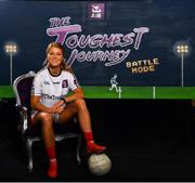 1 August 2019; Sarah Rowe of Kilmoremoy and Mayo in attendance at the launch of the new dual-player feature of AIB's online video game, The Toughest Journey. Previously restricted to playing as a single user, 'Battle Mode' will allow game players to go head-to-head in real time. For the second year, AIB have brought back their retro style video game, The Toughest Journey, that brings to life the challenges players face throughout their careers from Club to County in the journey to the All-Ireland Final. For exclusive content and to see why AIB is backing Club and County follow us @AIB_GAA on Twitter, Instagram, Snapchat, Facebook and AIB.ie/GAA and to play the game visit www.thetoughestjourneygame.com. Photo by Sam Barnes/Sportsfile