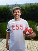 1 August 2019; Former Republic of Ireland player and Virgin Media Sport panelist Kevin Kilbane during the launch of Virgin Media's €55-a-month 'Endless Football', Superfast Broadband and TV package, at Virgin Media Ireland HQ. You can check out Virgin Media's Sizzling Summer package that offers the best value for Irish soccer fans on all the big competitions on https://www.virginmedia.ie/bundles/broadband-tv-phone. Photo by Stephen McCarthy/Sportsfile