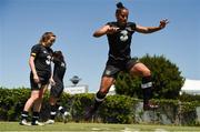 1 August 2019; Rianna Jarrett during a Republic of Ireland women's team training session at Dignity Health Sports Park in Carson, California, USA. Photo by Cody Glenn/Sportsfile