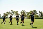 1 August 2019; A general view during Republic of Ireland women's team training session at Dignity Health Sports Park in Carson, California, USA. Photo by Cody Glenn/Sportsfile