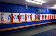 3 August 2019; The Cork team dressing room prior to the Bord Gáis GAA Hurling All-Ireland U20 Championship Semi-Final match between Kilkenny and Cork at O'Moore Park in Portlaoise, Laois. Photo by Matt Browne/Sportsfile