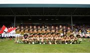 3 August 2019; Kilkenny players prior to the Bord Gáis GAA Hurling All-Ireland U20 Championship Semi-Final match between Kilkenny and Cork at O'Moore Park in Portlaoise, Laois. Photo by Harry Murphy/Sportsfile