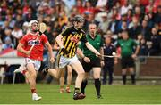 3 August 2019; David Blanchfield of Kilkenny in action against Tommy O'Connell of Cork during the Bord Gáis GAA Hurling All-Ireland U20 Championship Semi-Final match between Kilkenny and Cork at O'Moore Park in Portlaoise, Laois. Photo by Matt Browne/Sportsfile