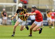 3 August 2019; Conor Murphy of Kilkenny in action against Ger Millerick of Cork during the Bord Gáis GAA Hurling All-Ireland U20 Championship Semi-Final match between Kilkenny and Cork at O'Moore Park in Portlaoise, Laois. Photo by Matt Browne/Sportsfile