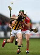 3 August 2019; Eoin Cody of Kilkenny in action against Eoin Roche of Cork during the Bord Gáis GAA Hurling All-Ireland U20 Championship Semi-Final match between Kilkenny and Cork at O'Moore Park in Portlaoise, Laois. Photo by Harry Murphy/Sportsfile