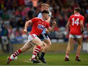 3 August 2019; Blake Murphy of Cork celebrates after scoring his side's first goal during the EirGrid GAA Football All-Ireland U20 Championship Final match between Cork and Dublin at O'Moore Park in Portlaoise, Laois. Photo by Harry Murphy/Sportsfile