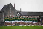 3 August 2019; Kerry players prior to the GAA Football All-Ireland Senior Championship Quarter-Final Group 1 Phase 3 match between Meath and Kerry at Páirc Tailteann in Navan, Meath. Photo by Stephen McCarthy/Sportsfile