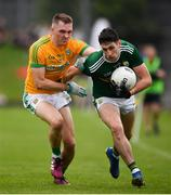 3 August 2019; Paul Geaney of Kerry in action against Conor McGill of Meath during the GAA Football All-Ireland Senior Championship Quarter-Final Group 1 Phase 3 match between Meath and Kerry at Páirc Tailteann in Navan, Meath. Photo by Stephen McCarthy/Sportsfile