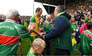 3 August 2019; Michael Murphy of Donegal leaves the pitch after the GAA Football All-Ireland Senior Championship Quarter-Final Group 1 Phase 3 match between Mayo and Donegal at Elvery's MacHale Park in Castlebar, Mayo. Photo by Brendan Moran/Sportsfile