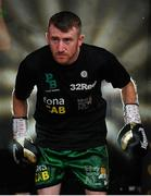 3 August 2019; Paddy Barnes ahead of his bantamweight bout against Joel Sanchez at Falls Park in Belfast. Photo by Ramsey Cardy/Sportsfile