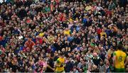 3 August 2019; Supporters look on during the GAA Football All-Ireland Senior Championship Quarter-Final Group 1 Phase 3 match between Mayo and Donegal at Elvery's MacHale Park in Castlebar, Mayo. Photo by Brendan Moran/Sportsfile