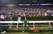 3 August 2019; Katie McCabe of Republic of Ireland following the Women's International Friendly match between USA and Republic of Ireland at Rose Bowl in Pasadena, California, USA. Photo by Cody Glenn/Sportsfile