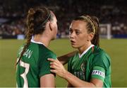 3 August 2019; Katie McCabe, right, and Jess Gargan of Republic of Ireland following the Women's International Friendly match between USA and Republic of Ireland at Rose Bowl in Pasadena, California, USA. Photo by Cody Glenn/Sportsfile